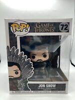 BRAND NEW Funko Pop Game of Thrones 72 JON SNOW on Iron Throne FIGURE
