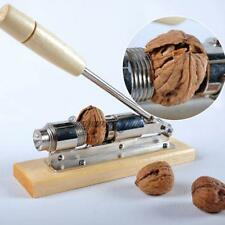 Heavy Duty Easy Manual Pecan Nut Cracker Nickel-Plated Nutcracker Walnut Sheller