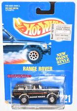 HOT WHEELS 1991 BLUE CARD RANGE ROVER COLLECTOR #221 BLACK 02 W+
