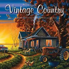 Vintage Country 2018 Wall Calendar
