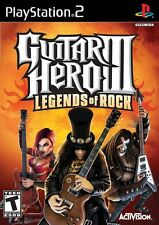 Guitar Hero III Legends Of Rock PS2 Playstation 2 Complete Game