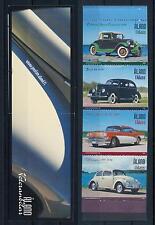 [58604] Aland 2005 Vintage cars Ford Volkswagen Buick Oakland Compl. Booklet MNH