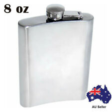 Brand Top Quality 8oz Stainless Steel Hip Flask Top Item Back