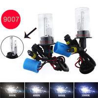Two HID Replacement Xenon Light Bulbs Dual beam Hi & Lo 9007 Headlight 55W