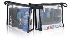 Lynx Men HOLIDAY Travel Gift Toiletry Bag Set - Deodorant Shower Shampoo Hair