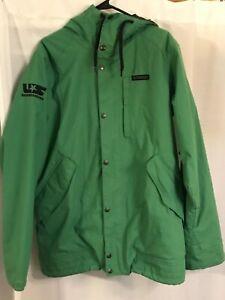 Burton Shaun White Collection Snowboarding Jacket Parka Green Men's M Medium