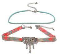 Embroidered Rhinestone Multipack Bracelet / 2 Bracelets / Brand New