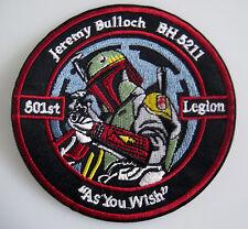 Star Wars - Jeremy Bulloch - 501st Legion - Patch Aufnäher zum Aufbügeln - neu