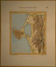1882 Perron map HACHIROGATA, AKITA PREFECTURE, HONSHU, JAPAN (#134)