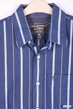 Abercrombie & Fitch Herren-Freizeithemden aus Baumwolle Gestreifte