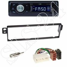 Caliber RMD021 Radio + Chevrolet Kalos (KLAS) 1-DIN Blende black + ISO-Adapter