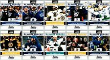 2011-12 SCORE PLAYOFF HEROES COMPLETE 10 CARD INSERT SET LOT Mint BV Thornton