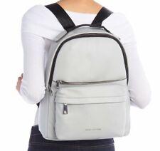Marc Jacobs Varsity Pack Large Light Grey Leather Backpack Bag