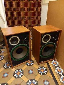 Vintage Wharfedale Speakers X 2 *Spares or repairs!*