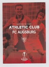 Orig.PRG     Europa League  2015/16   ATHLETIC BILBAO - FC AUGSBURG  !!  SELTEN