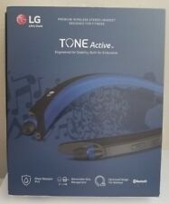 87536095dde LG Tone Active Wireless Water Resistant Headset - HBS-A80 - Black /