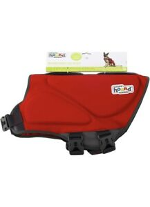 """Outward Hound Dawson Swimmer Life Jacket for Dogs - X-Large, Red 33-44"""" Girth"""