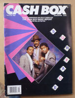 1987 CASHBOX MUSIC MAGAZINE FEATURING SURFACE