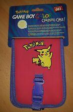Gameboy Color Pokemontasche in hellrot, Neu!