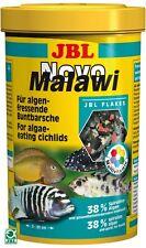 JBL NovoMalawi 40g/250ml dei ciclidi Flake VASCA DEI PESCI CIBO ACQUARIO