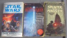 Star Wars Books Splinter Mind's Eye Return of the Jedi Dark Apprentice 1st Ed SC