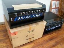 Nos Mechanical Tabletop Compact Snack Vending Machine 10 item Vm-150 Face Masks