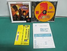 PlayStation - TIME CRISIS - PS1. Best. JAPAN GAME. Spine card. Work fully. 23415