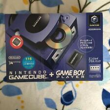 Nintendo GameCube Violet Console System + Game Boy Player Enjoy Plus USED JP