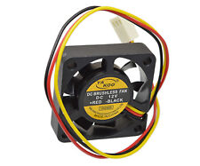 40mm Small PC Fan Silent Cooling Heat Computer Case quite 12V 3 Pin Wire. 01