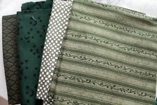 Fat Quarters In Green Quilt Shop Quality
