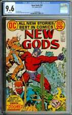 NEW GODS #10 CGC 9.6 WHITE PAGES // JACK KIRBY + MIKE ROYER COVER ART 1972
