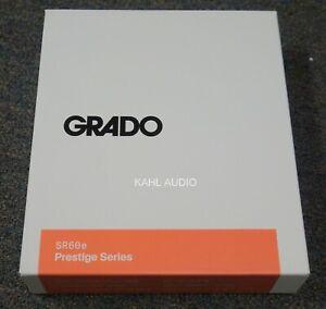 "Grado SR60e headphones. NEW. ""Best entry level headphone ever"" $79 MSRP"