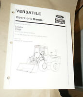 1994 Ford New Holland Loader 2360 Operator's Manual P/N 43236014