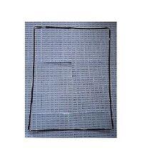 Guarnizione frame nero cornice plastica x touch screen per Apple Ipad 2 II 3 III