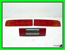 87-89 Nissan 300zx Tail Light Set - Driver Passenger Center Lights Lamp Lens