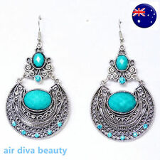 Hook Turquoise Alloy Fashion Earrings