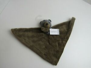Carters Bear cuddle blanket with rattle