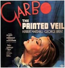 Painted Veil Poster Greta Garbo 1934 OLD MOVIE PHOTO