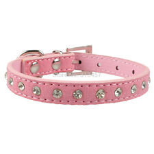 Dog Cat Collar Puppy Kitten Collars Pack Pink Blue Black Red Studs Collar Small