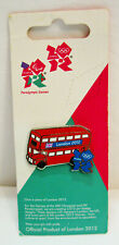 Souvenir Lapel Pin Badge Official 2012 OLYMPIC and PARALYMPIC GAMES London Bus