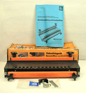ELU DOVETAIL JIG IN BOX WITH INSTRUCTION BOOK