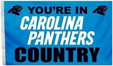 Carolina Panthers You're In Country 3 x 5 Flag 11254