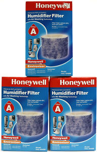 3 Pack - NEW Honeywell Replacement Humidifier Filter Model HAC-504AW Type A