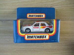 MATCHBOX SUPERFAST  MB22   SAAB 9000 TURBO  RALLY     ABSOLUTELY MINT