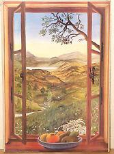 (PRL) 1983 SUMMER VIEW ESTATE PANORAMA ESTIVO VINTAGE AFFICHE PRINT ART POSTER