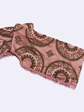 More details for antique french damask pink pelmet swag