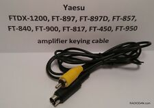 Yaesu Amplifier Keying Cable FTDX-1200 FT-857 FT-897D FT-900 FT-840 FT-450 FT950