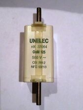 UNELEC FUSIBLE 37064 T0 125A  AM  500V