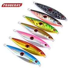 Lot Of 7 Knife Jigs Saltwater Fishing Jigging Lures 120 Gr - 4.23 Oz , 11 Cm