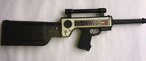 Vintage 1964 Mattel Agent Zero M Transistor Radio Cap Rifle Toy Poor Condition